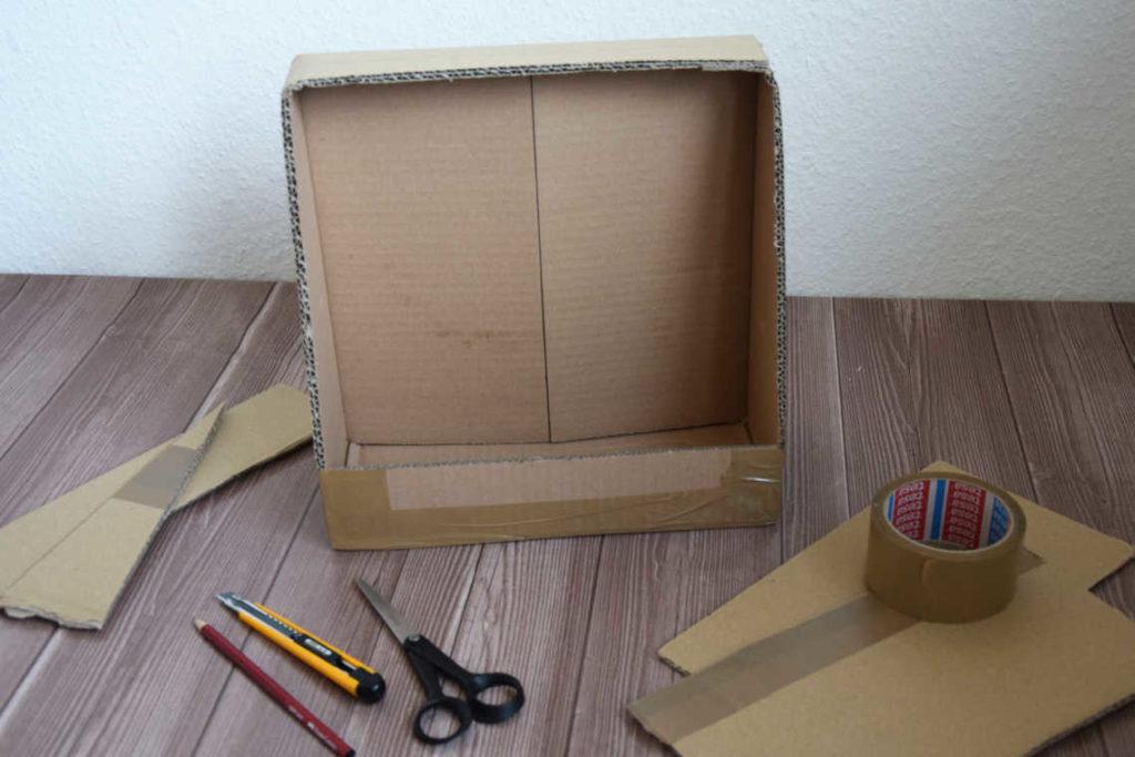 DIY Kinogutschein Karton zuschneiden