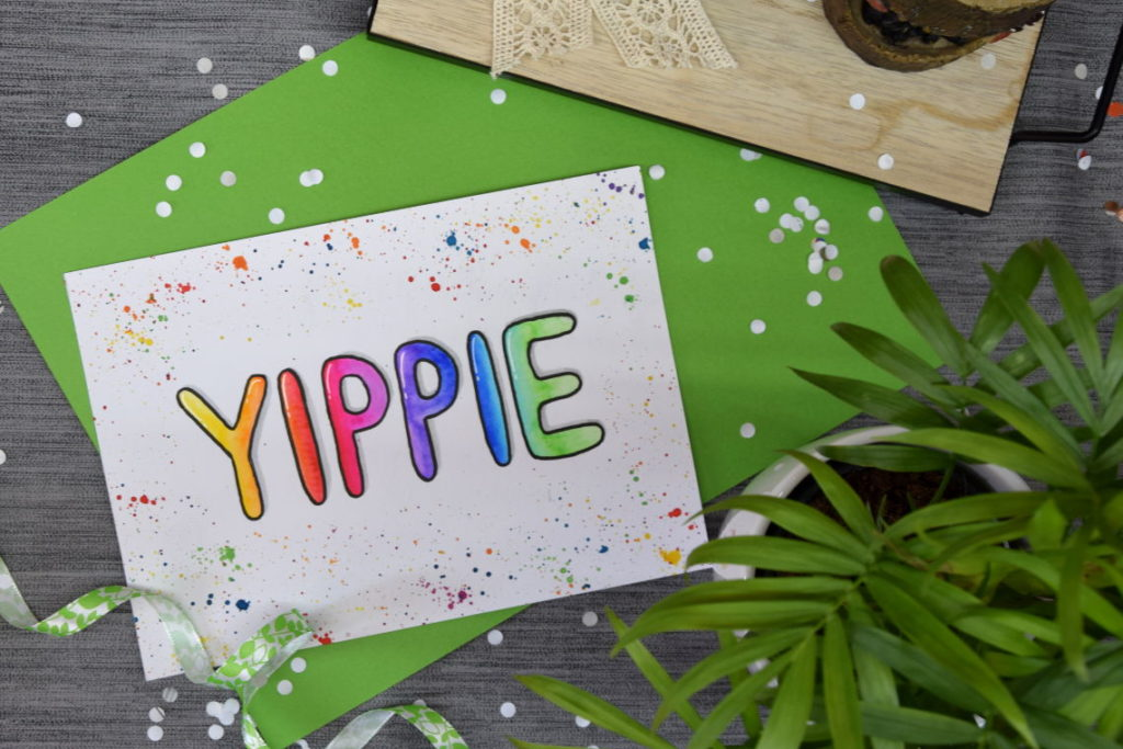 Handlettering Inspiration Handlettering Yippie