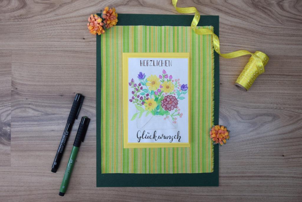 Handlettering Inspiration Handlettering Herzlichen Glückwunsch
