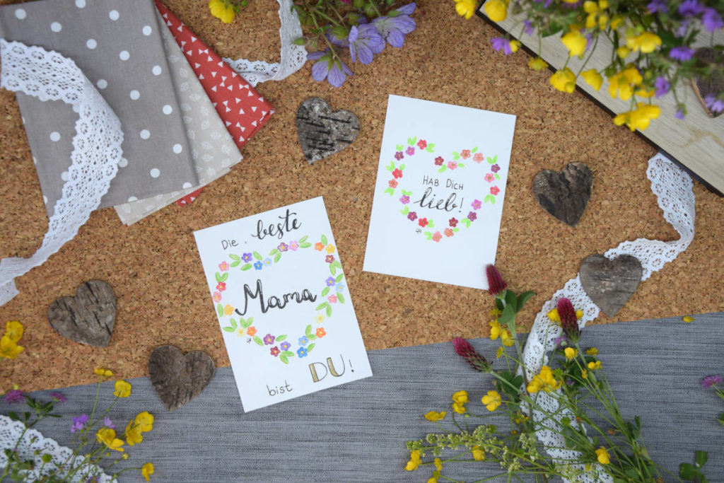 Handlettering Inspiration Handlettering zum Muttertag