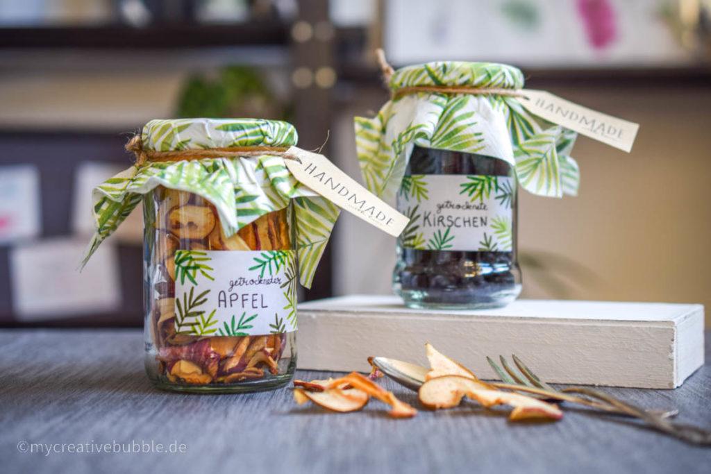 Kreative Geschenke für Oma und Opa Trockenfrüchte