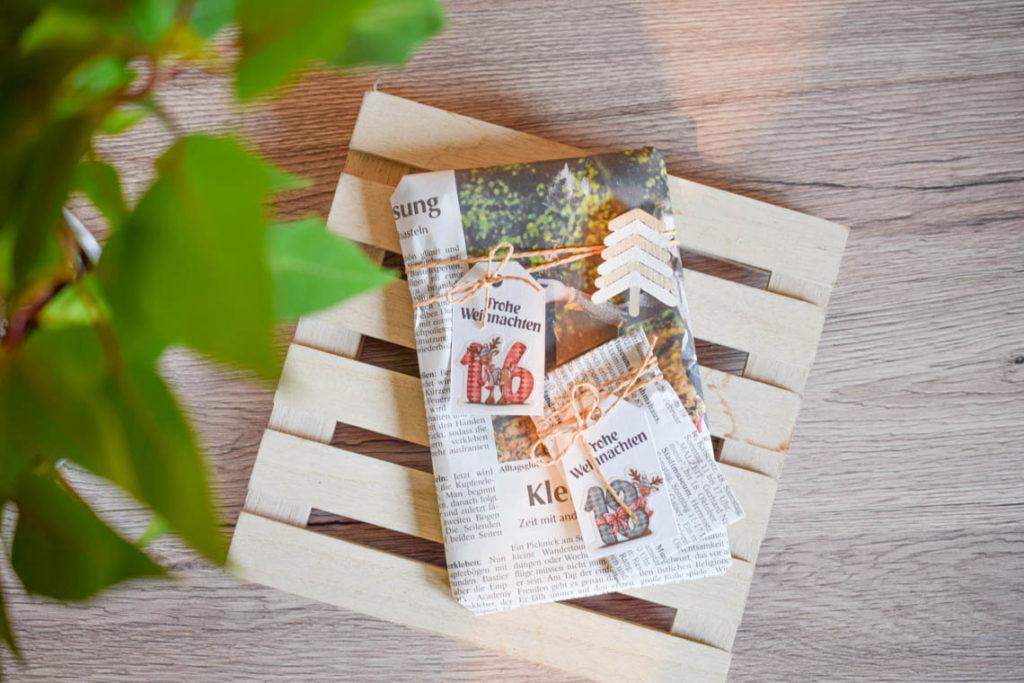 Adventskalender nachhaltig verpacken