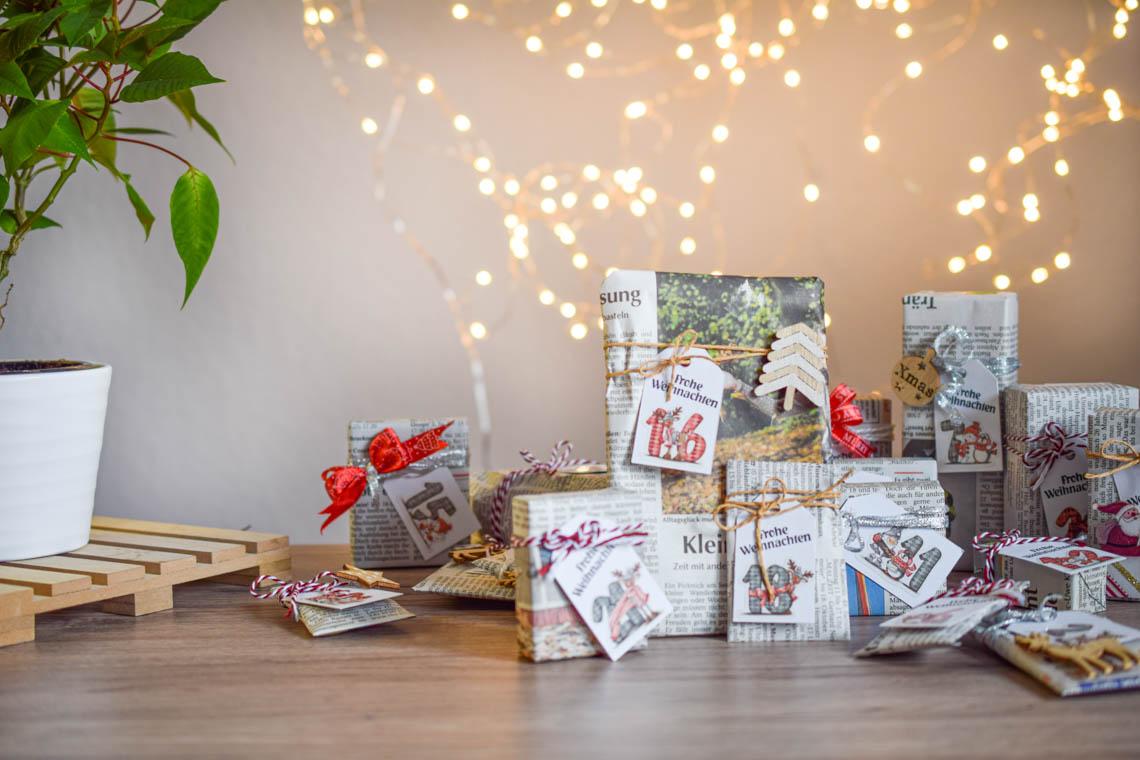 Nachhaltige Füllideen für den Adventskalender